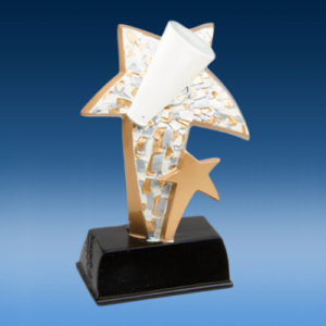 Cheerleading Star Resin Award