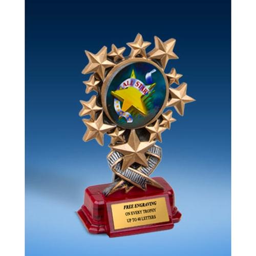 All Star Resin Starburst Award