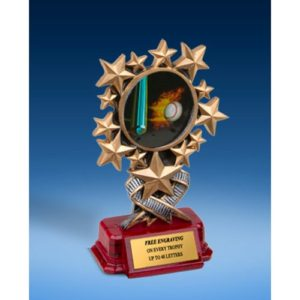 Baseball 1 Resin Starburst Award