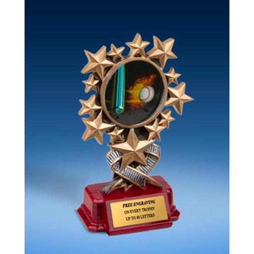 Baseball 1 Resin Starburst Award