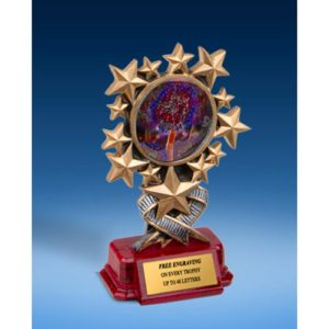 Cheerleading 2 Resin Starburst Award