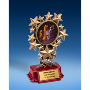 Chess Resin Starburst Award