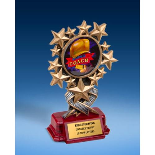 Coach Resin Starburst Award