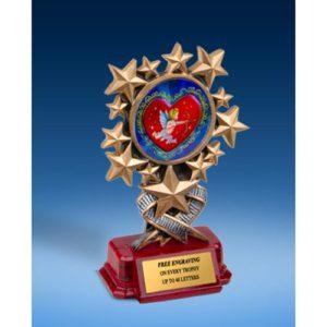 Cupid Resin Starburst Award