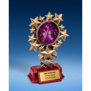 Dance 2 Resin Starburst Award