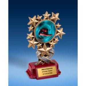 Diving Female Resin Starburst Award