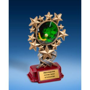 Field Hockey Resin Starburst Award