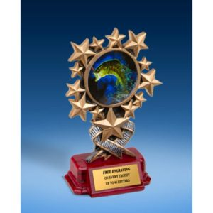 Fishing Resin Starburst Award