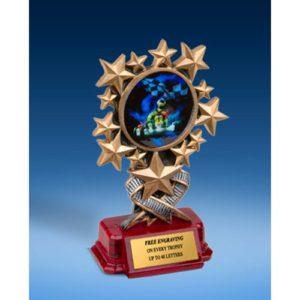 Go Kart Resin Starburst Award