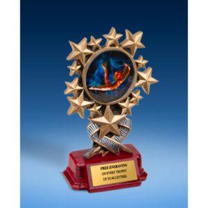Gymnastics Female Resin Starburst Award
