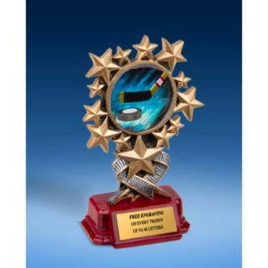 Hockey Resin Starburst Award