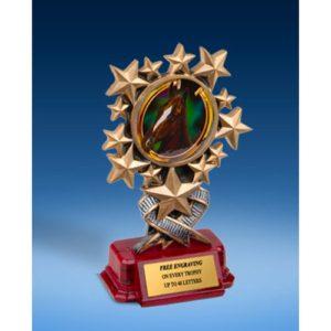 Horse Resin Starburst Award