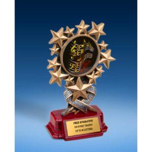Music 1 Resin Starburst Award
