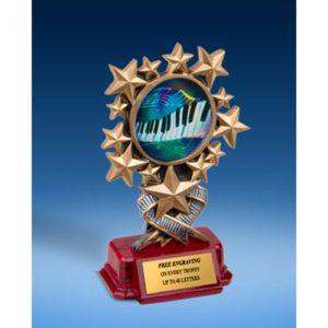 Music 2 Resin Starburst Award