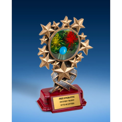 Paintball Resin Starburst Award