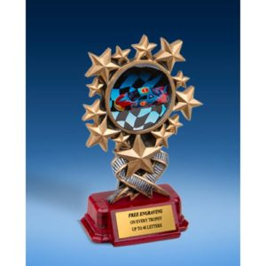 Racing Resin Starburst Award
