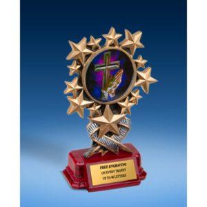 Religion Resin Starburst Award