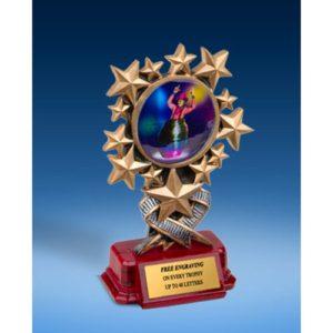 Rodeo Clown Resin Starburst Award