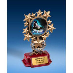 Rollerblading Resin Starburst Award