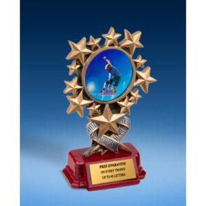 Skateboarding Resin Starburst Award