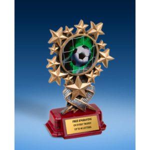 Soccer 1 Resin Starburst Award