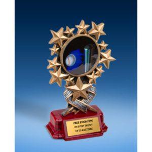Softball Resin Starburst Award