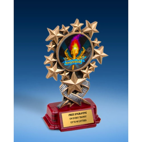Sponsor Resin Starburst Award