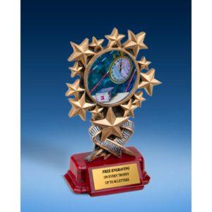 Swimming Resin Starburst Award
