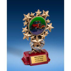 Hot Rod Resin Starburst Award