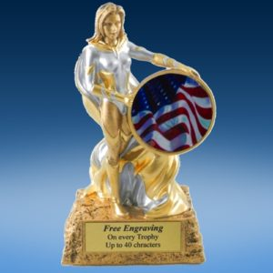 USA Lady Hero Resin