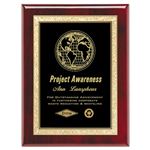 Rosewood Classic Series Plaque Black