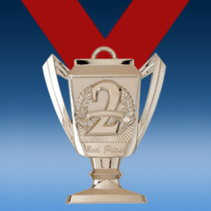 2nd Place Trophy Medal-0