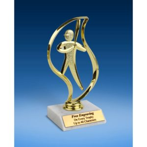 Softball Torch Figure Trophy 6""