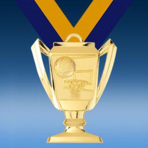 Basketball Trophy Medal-0