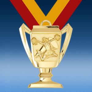 Cheerleading Trophy Medal-0