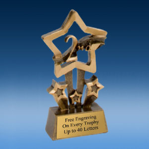 2nd Place Quad Star Resin