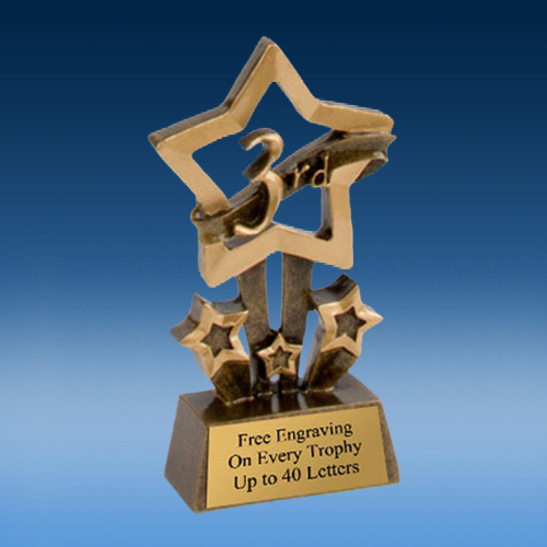 3rd Place Quad Star Resin