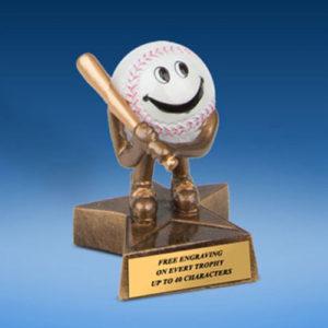 Baseball Little Buddy Resin