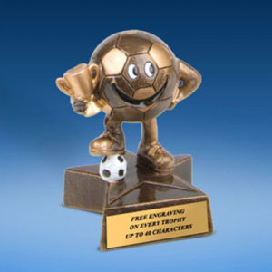 Soccer Little Buddy Resin