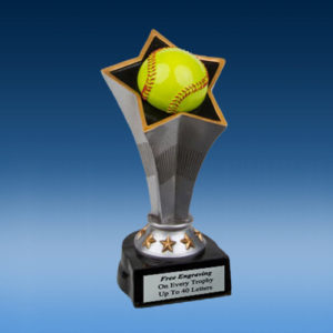 Softball Rising Star Resin