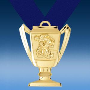 Wrestling Trophy Medal-0