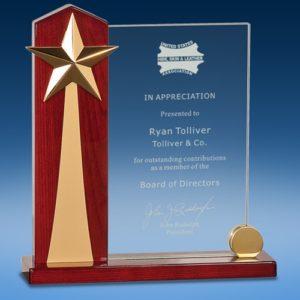Rising Star Glass Award