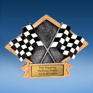Derby Diamond Resin Plate