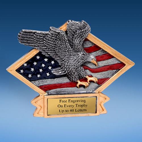 Eagle Diamond Resin Plate