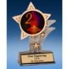 2nd Place Mylar Sport Star Resin