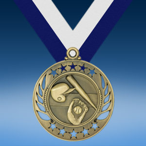Baseball Galaxy Medal-0