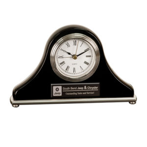 Black Mantel Desk Clock