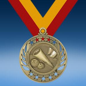 Cheerleading Galaxy Medal-0