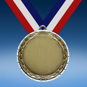 Blank Diamond Cut Medal-0