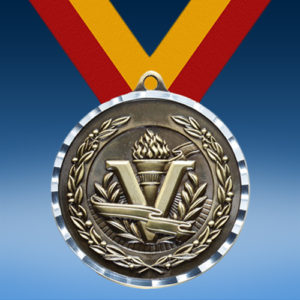 Victory Diamond Cut Medal-0